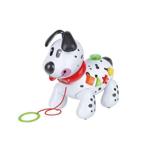 Cachorro Musical Infantil Sons e Luzes 22cm X 12cm X 19.5cm