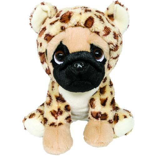 Cachorro Pug com Roupa de Oncinha