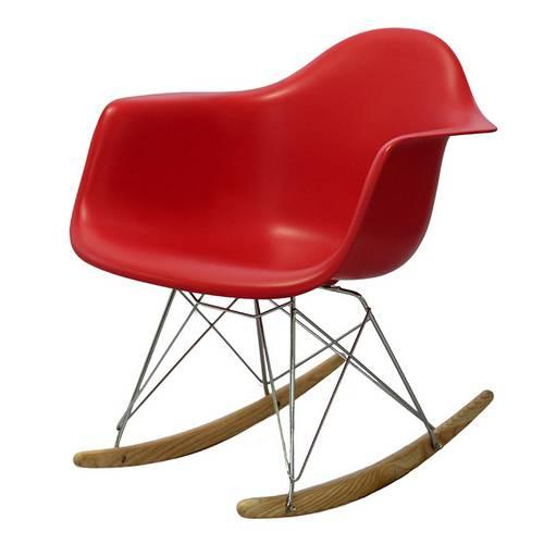 Cadeira 1122 Polipropileno de Balanço Vermelha Ór Design