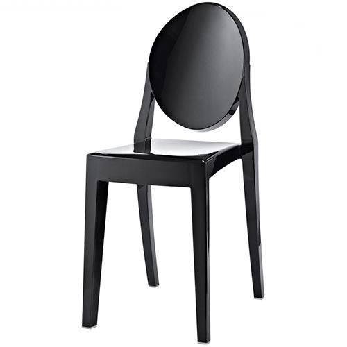 Cadeira 1107 Ghost Preta