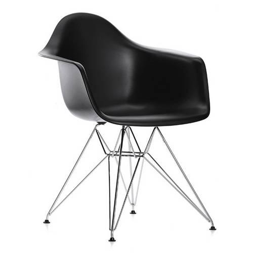 Cadeira 1121 Polipropileno Preto Ór Design