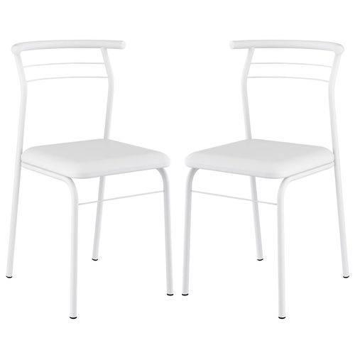 Cadeira 1708 Color 02 Unidades Branca Carraro