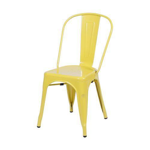 Cadeira Aço OR Design Amarelo