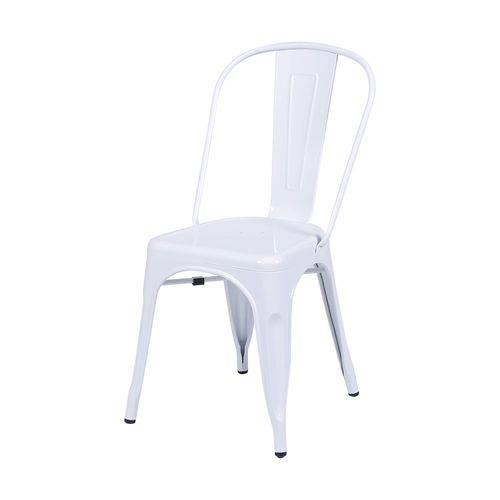Cadeira Aço OR Design Branco