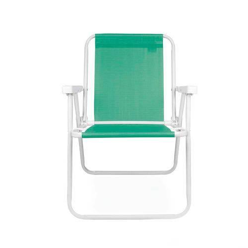 Cadeira Alta Aço Sannet Mor Verde Anis