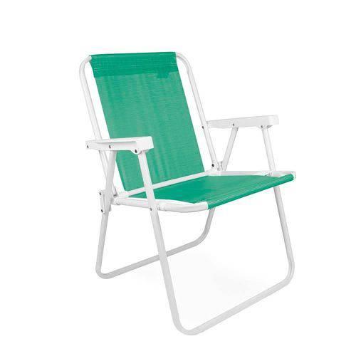 2 Cadeira Alta Aço Sannet Mor Verde Anis