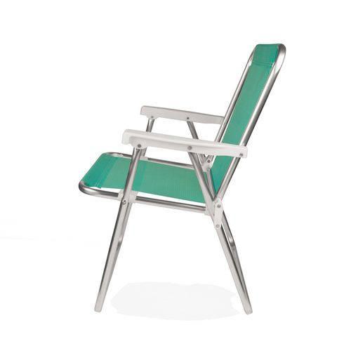 Cadeira Alta Alumínio Anis