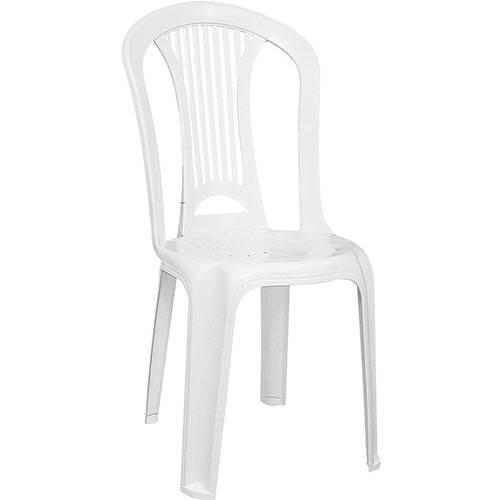Cadeira Atlântida PVC Branca - Tramontina