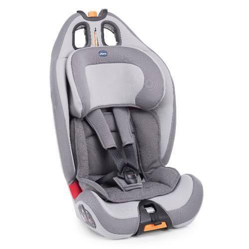 Cadeira Auto Bebê Gro Up Reclinável Chicco Cinza - Até 36 Kg