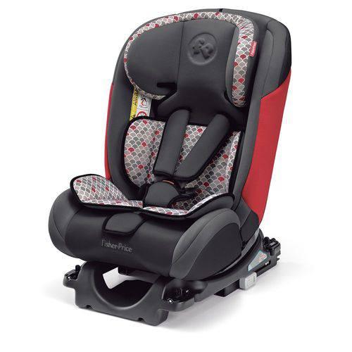 Cadeira Auto Fisher Price All Stages Fix 0-36 K Isofix Vermelha