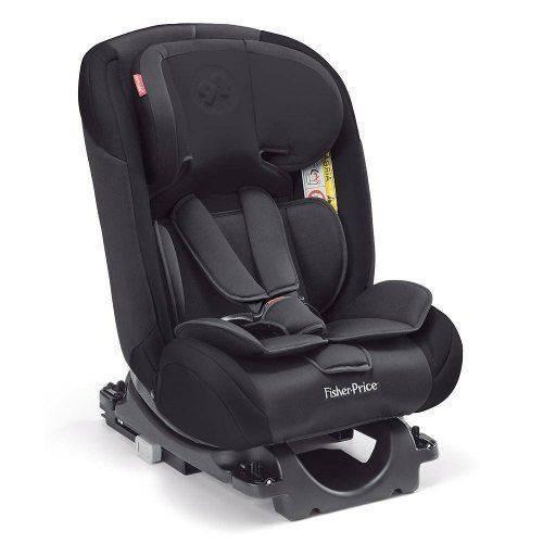 Cadeira Auto Isofix Fisher Price All Stages Fix 0-36 Kg Preta