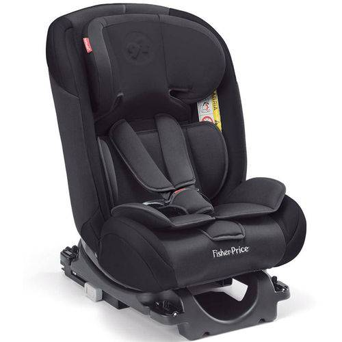 Cadeira Auto Isofix Fisher Price All Stages Fix Preta 0-36 K