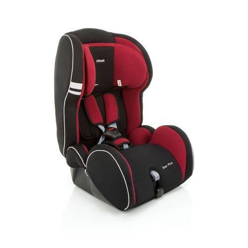 Cadeira Auto Reclinável Assento Booster Star Plus Cherry 9 a 36kg - Infanti