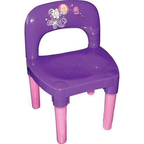 Cadeira Barbie Roxa - Fun