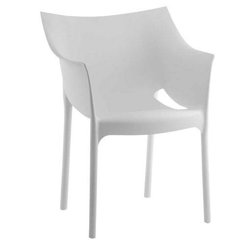 Cadeira Bat Branca Pp Or Design 1144 - Branco