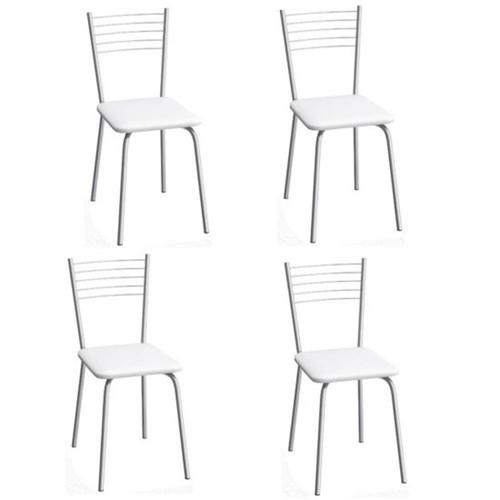 Cadeira Flex C1052 4 Unidades - Compoarte   Elare