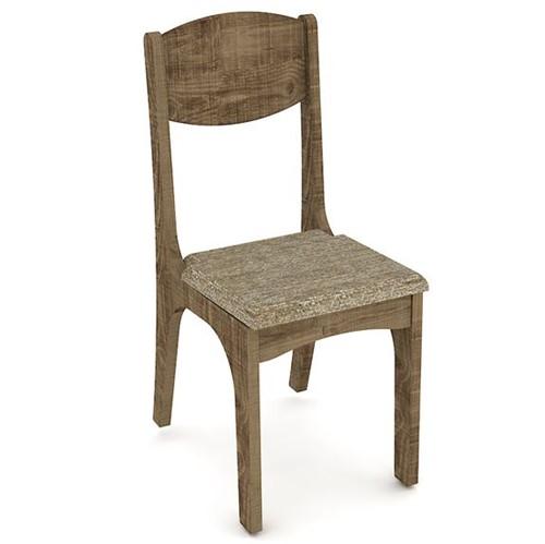 Cadeira CA12 - Tecido Chenille Marrom