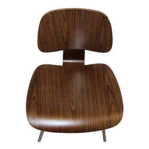 Cadeira Charles Eames Wood Nogueira