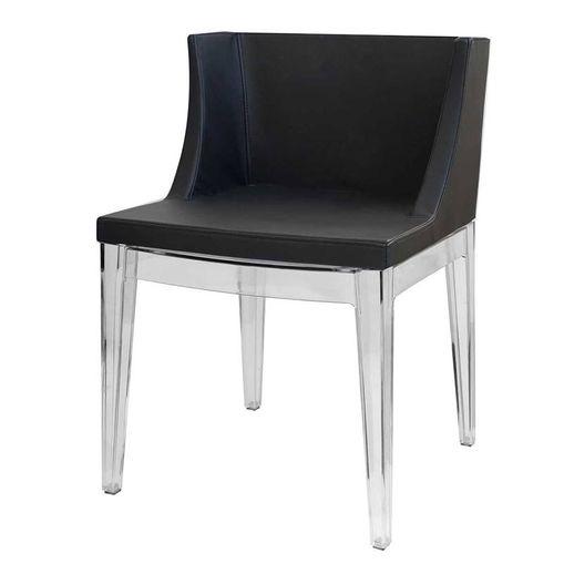 Cadeira Colina Preta Couríssimo e PC OR Design 1136