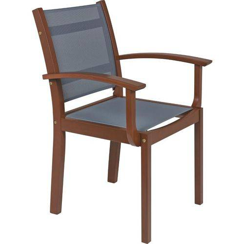 Cadeira com Braços com Tela - Tramontina