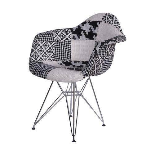 Cadeira com Braços Eames em Metal 1121 OR Design
