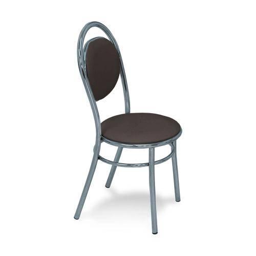 Cadeira Cromada George Cacau