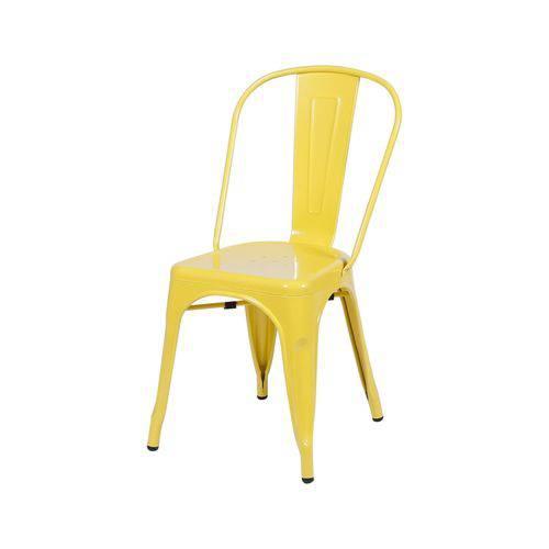 Cadeira de Aço Amarela Or Design 1117 - Amarelo