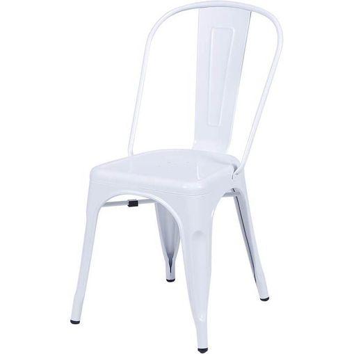 Cadeira de Aço Branca OR Design 1117
