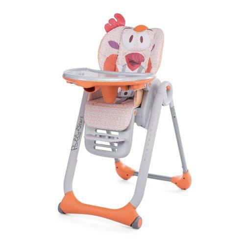 Cadeira de Alimentação Polly 2 em 1 Start Fancy Chicken 0 a 15kg - Chicco
