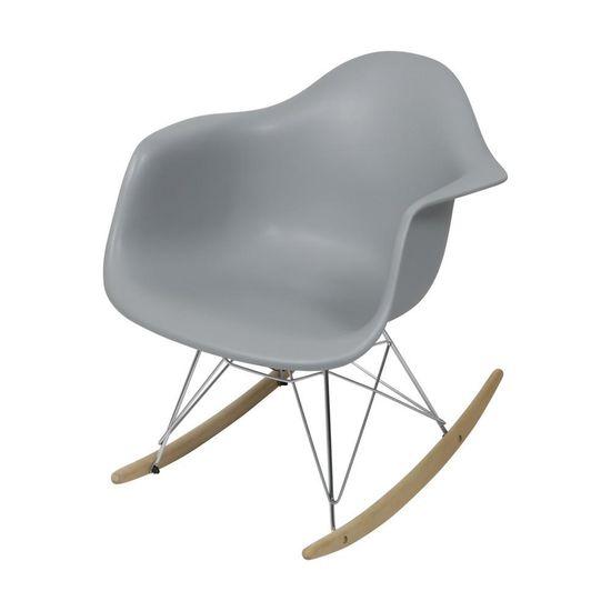 Cadeira de Balanco Eames DAR Cinza