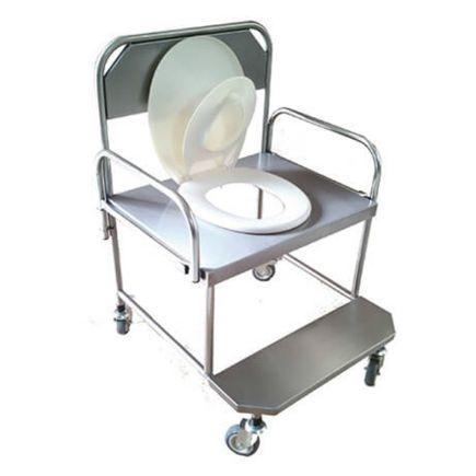 Cadeira de Banho em Aço Inox 100kg