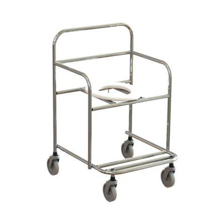 Cadeira de Banho em Aço Inox 90kg