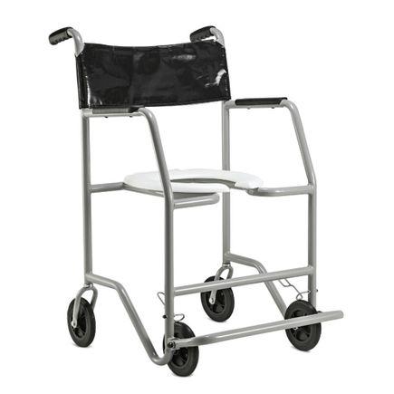 Cadeira de Banho em Aço - Ortopedia Jaguaribe - Big LX