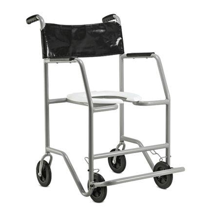 Cadeira de Banho em Aço - Ortopedia Jaguaribe - Big