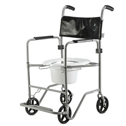Cadeira de Banho em Aço - Ortopedia Jaguaribe - BR Sanitário