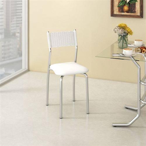 Cadeira de Cozinha Estofada Mônaco C142