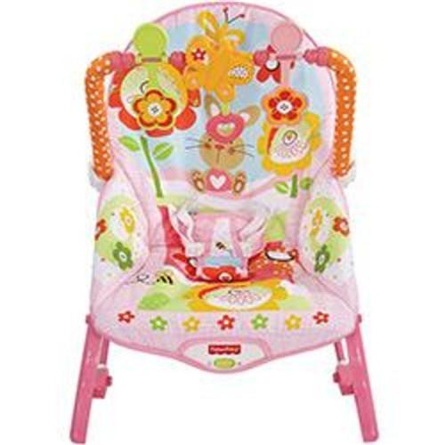 Cadeira de Descanso Bouncer Minha Infância Meninas - Fisher Price