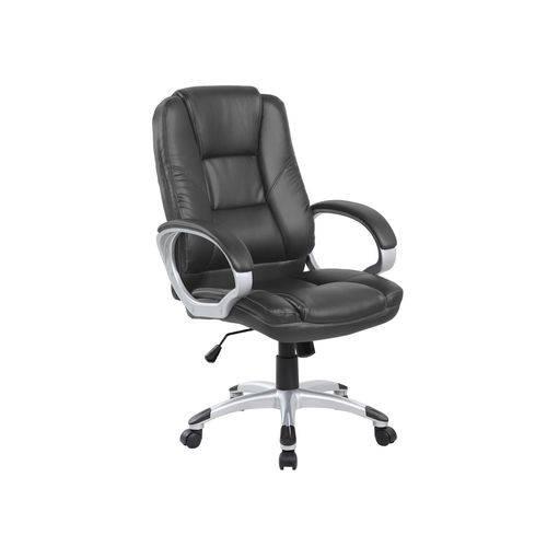 Cadeira de Escritório Or Design Presidente Dallas Preta