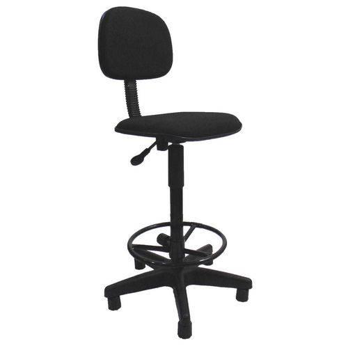 Cadeira de Escritório Secretária Giratória Caixa Preto