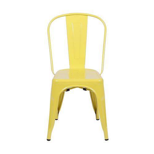 Cadeira de Ferro Tolix Amarela