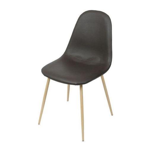 Cadeira de Jantar Café em Tecido PU ÓR Design
