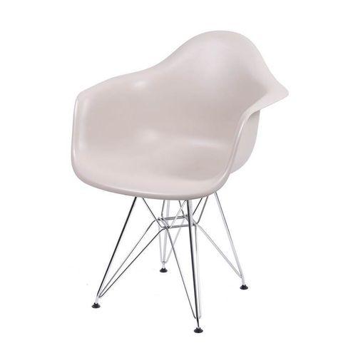 Cadeira de Jantar Eames Eiffel com Braços Fendi 1121 OR Design