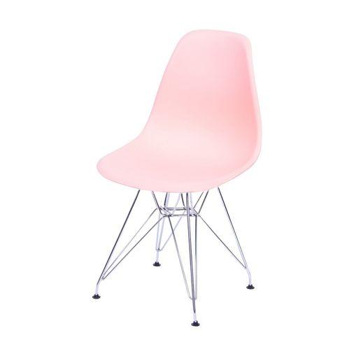 Cadeira de Jantar Eames Eiffel Salmão 1102 OR Design