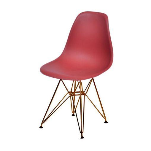 Cadeira de Jantar Eames Eiffel Telha Base Cobre 1102CO Ór