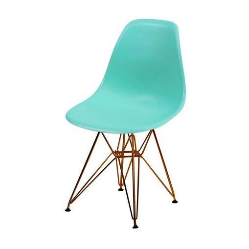 Cadeira de Jantar Eames Eiffel Tiffany Base Cobre 1102CO Ór