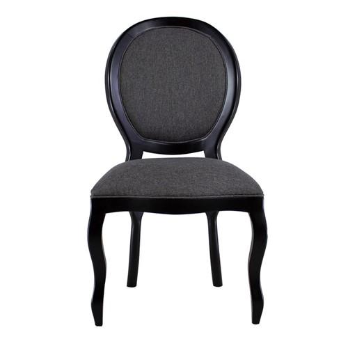 Cadeira de Jantar Medalhão Lisa Sem Braço - Wood Prime 230339 Liso