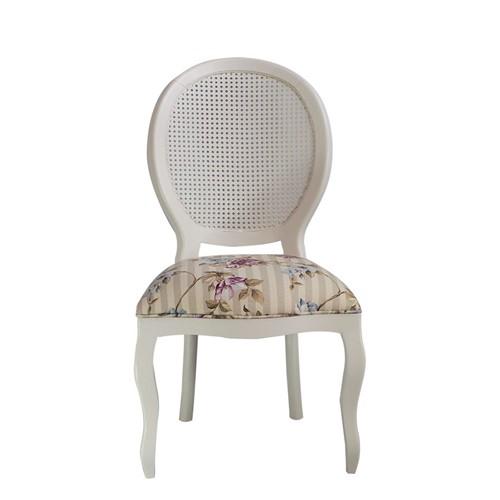 Cadeira de Jantar Medalhão Lisa Sem Braço - Wood Prime 15679 Liso
