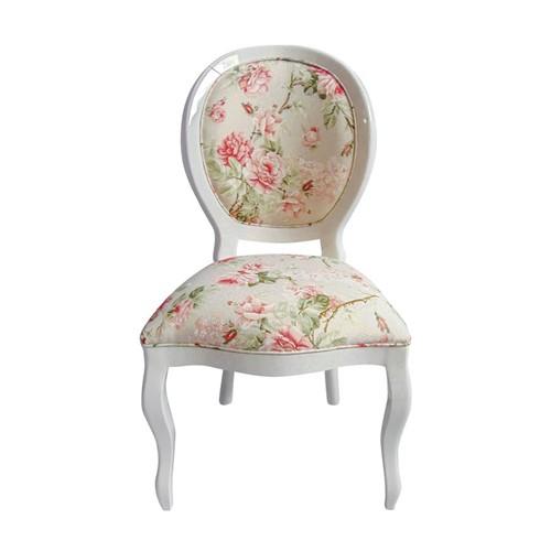 Cadeira de Jantar Medalhão Lisa Sem Braço - Wood Prime 252384 Liso