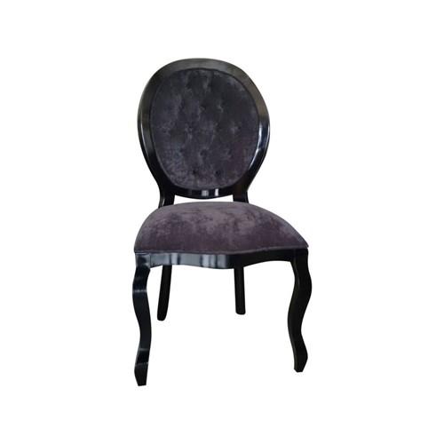 Cadeira de Jantar Medalhão Lisa Sem Braço - Wood Prime 262935 Liso
