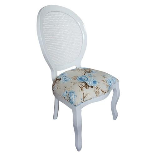 Cadeira de Jantar Medalhão Lisa Sem Braço - Wood Prime 899570 Liso
